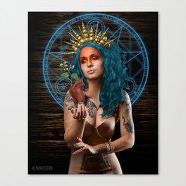 Saint Nightshade Canvas Print