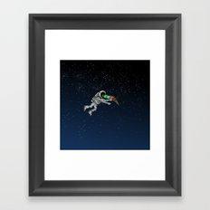 Spacetime Sadness Framed Art Print