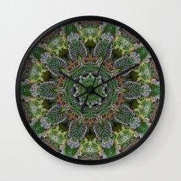 Green Queen Wall Clock
