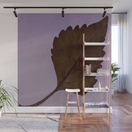 BE LIKE A LEAF #3 Wall Mural