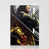 dragon age Stationery Cards featuring Dragon Age BlackWall by IVIDraws