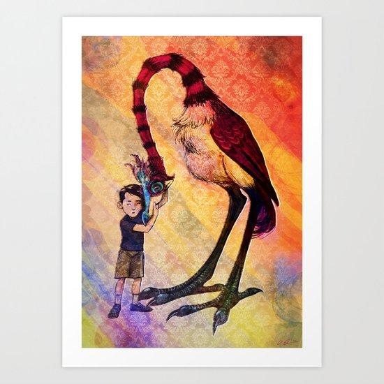 Havard's Bird Art Print