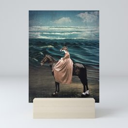 The Fox and the Sea Mini Art Print