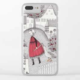 The Old Village Clear iPhone Case