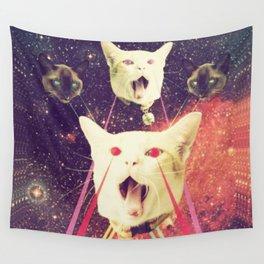 galactic Cats Saga 4 Wall Tapestry