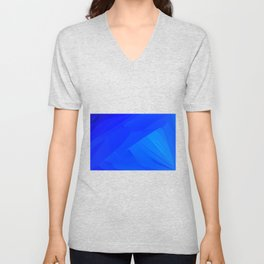 Dark Blue Backdrop Unisex V-Neck