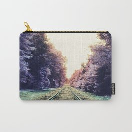 train TRACKS : Fond Dreams Carry-All Pouch