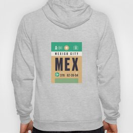 Baggage Tag A - MEX Mexico City Hoody
