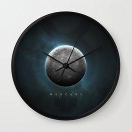 A Portrait of the Solar System: Mercury Wall Clock