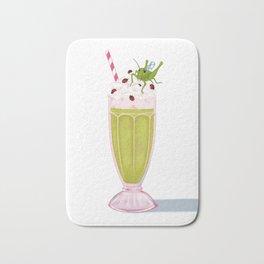 Grasshopper Milkshake Bath Mat