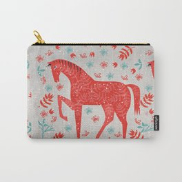 The Red Horse Carry-All Pouch