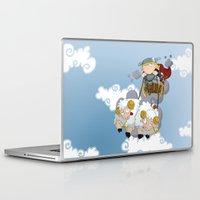 thor Laptop & iPad Skins featuring Thor by Alapapaju
