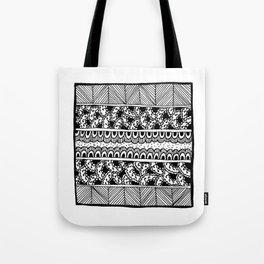 Graceland Black & White Tote Bag