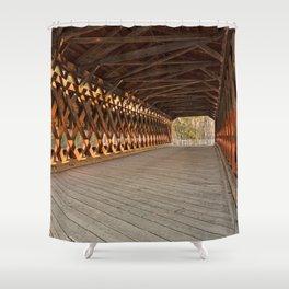 Sachs Covered Bridge Shower Curtain