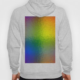 Rainbow Abstract Gradient Painted Pattern Hoody