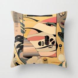 Riceball Throw Pillow
