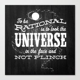 Rationality Canvas Print