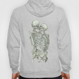 Valentine's Day: Skeleton Kiss Hoody