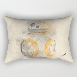 BB8 Watercolor Rectangular Pillow