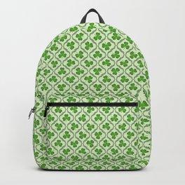 Irish Blessing Shamrocks Pattern Backpack