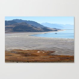 Antelope Island State Park Canvas Print