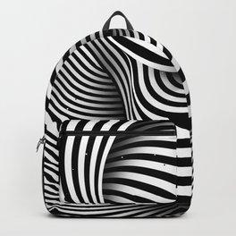 The Ear (black-white) Backpack