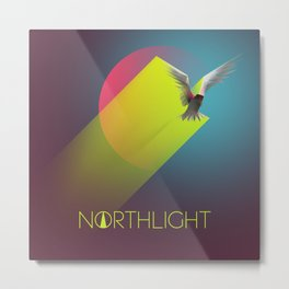 NORTHLIGHT Fly (Like a Sun Upon the Sky) artwork Metal Print