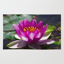 water lili Rug