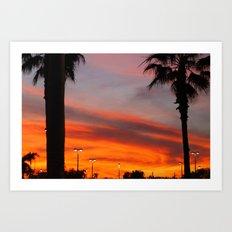 Florida Sky. Art Print