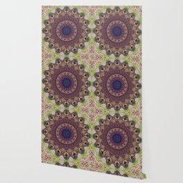 Mandala Glitch Lotus Wallpaper