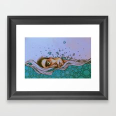 Floating On By Framed Art Print