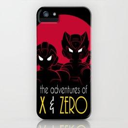 The Adventures of X & Zero iPhone Case