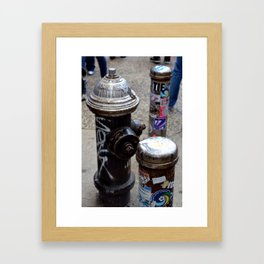 advertised & sold Framed Art Print