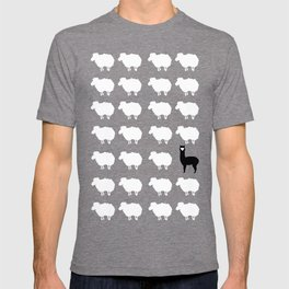 Don't be a sheep, Be a Llama T-shirt