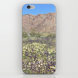 Superbloom in Joshua Tree iPhone Skin
