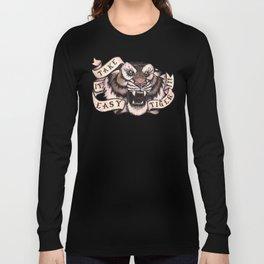 Take it Easy Tiger (w/ pink) Long Sleeve T-shirt