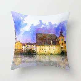 Regensburg Throw Pillow