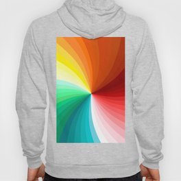 Multi Color Abstract Design Hoody
