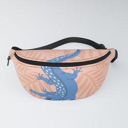 Crocodile – Blue & Blush Fanny Pack
