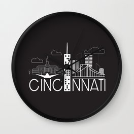 Cincinnati  Wall Clock