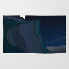 fairy landscape (at night) Rug