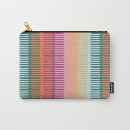 KILIM NO. 3 IN WARM MULTI Carry-All Pouch