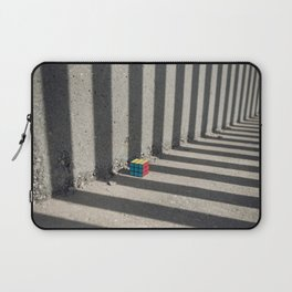 Rubik shading stripes Laptop Sleeve