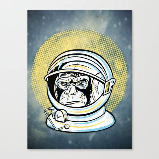 Space Ape Canvas Print