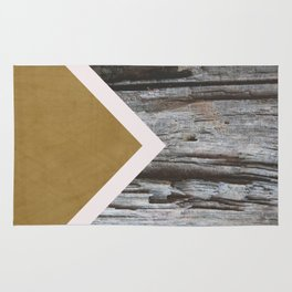 Wooded Chevron Rug