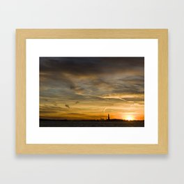 Liberty Sunset Framed Art Print