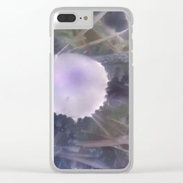 Cystoderma Skyview Clear iPhone Case