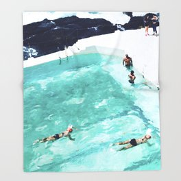 Resolutions (watercolour) Throw Blanket