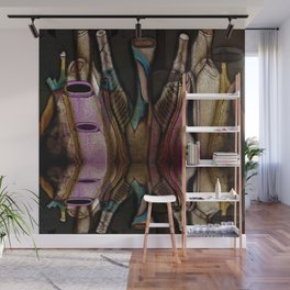 Abstract Jugs Wall Mural