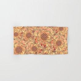P242020 Colourburst flowers honey Hand & Bath Towel